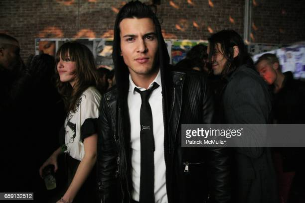 Steven Gold attends RADAR ENTERTAINMENT THE LAST MAGAZINE Toast Fashion Week at Studio 385 Broadway on February 20 2009 in New York City