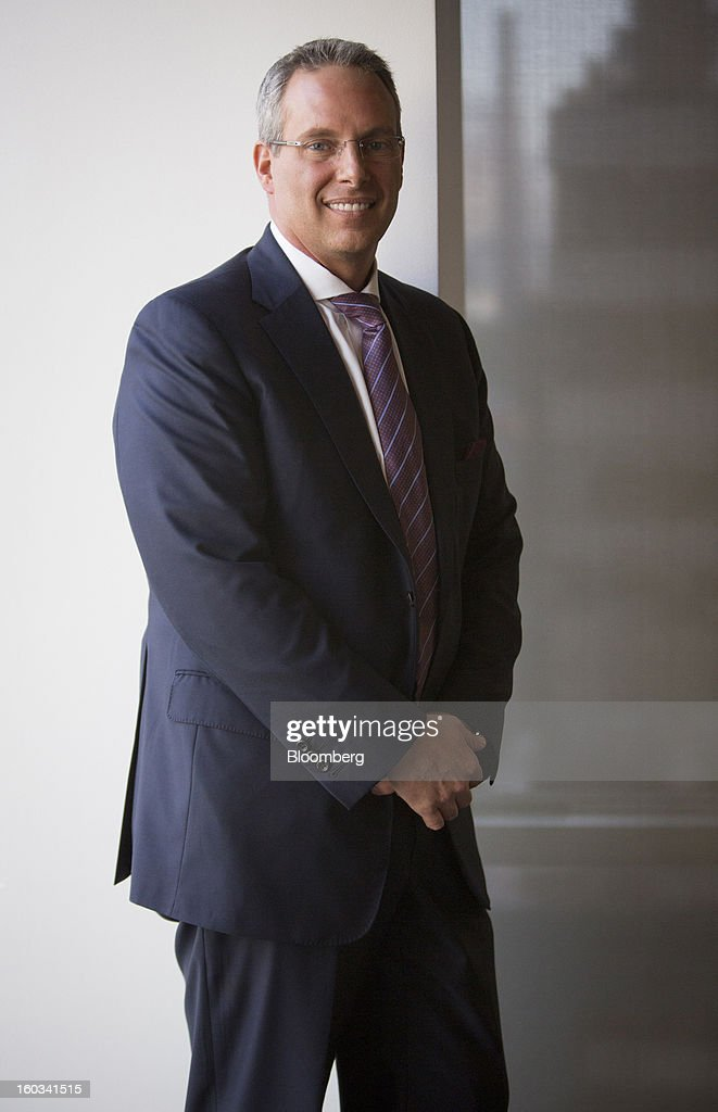 Steven Grimes, chief executive officer of Retail Properties of America Inc., stands for a photograph after a Bloomberg Television interview in New York, U.S., on Tuesday, Jan. 29, 2013. Grimes discussed the company's growth strategy. Photographer: Scott Eells/Bloomberg via Getty Images