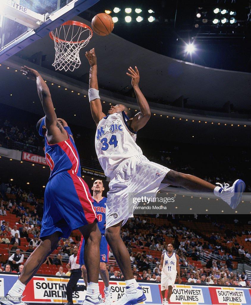 Detroit Pistons v Orlando Magic s and