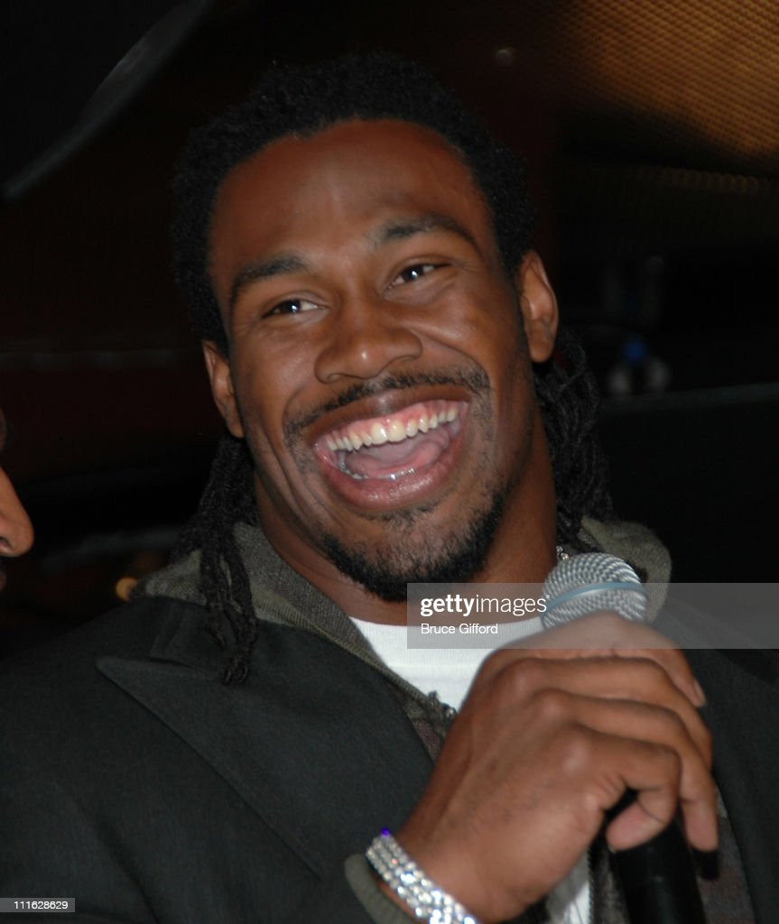 Steven Jackson during NFL Pro Bowler Steven Jackson and the Sirens of TI Team Up to Support Easter Seals Southern Nevada and The Steven Jackson...