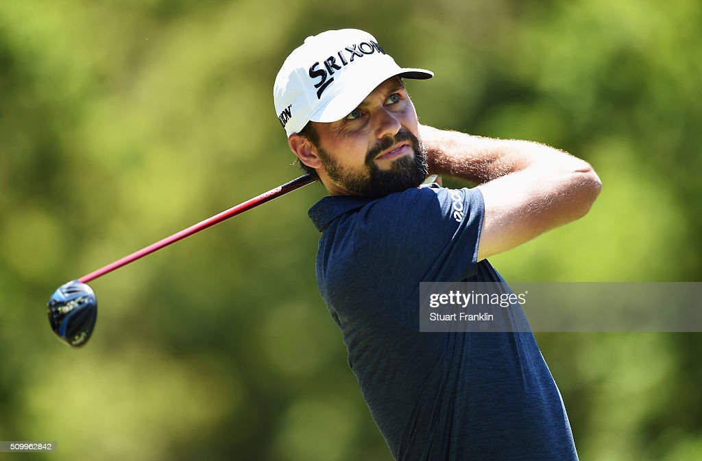 <a gi-track='captionPersonalityLinkClicked' href=/galleries/search?phrase=Steven+Jeppesen&family=editorial&specificpeople=235788 ng-click='$event.stopPropagation()'>Steven Jeppesen</a> of Sweden plays a shot during the third round of the Tshwane Open at Pretoria Country Club on February 13, 2016 in Pretoria, South Africa.