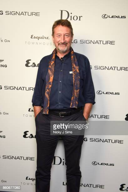 Steven Knight attends an An Evening with Steven Knight and Cillian Murphy from Peaky Blinders at Esquire Townhouse with Dior at Carlton House Terrace...