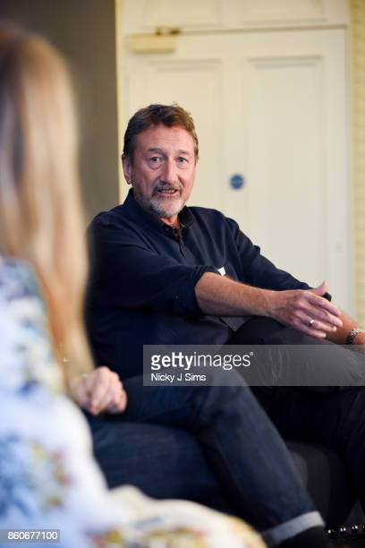 Steven Knight during an An Evening with Steven Knight and Cillian Murphy from Peaky Blinders at Esquire Townhouse with Dior at Carlton House Terrace...