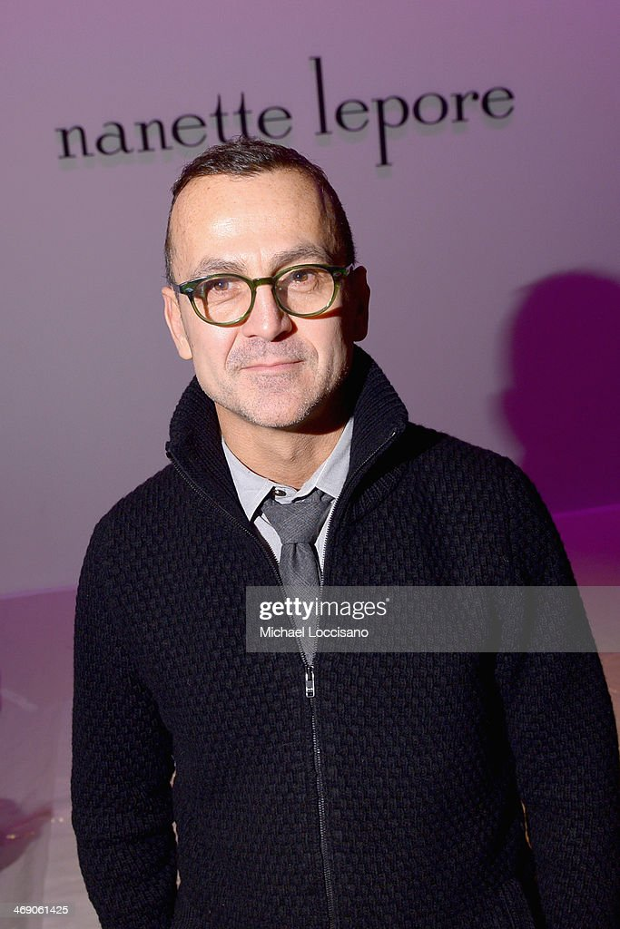 <a gi-track='captionPersonalityLinkClicked' href=/galleries/search?phrase=Steven+Kolb&family=editorial&specificpeople=854812 ng-click='$event.stopPropagation()'>Steven Kolb</a> attends the Nanette Lepore fashion show during Mercedes-Benz Fashion Week Fall 2014 at The Salon at Lincoln Center on February 12, 2014 in New York City.