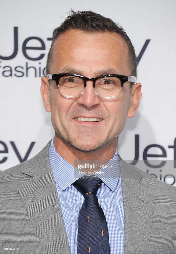 Steven Kolb, Chief Executive Officer at CFDA attends the Jeffrey Fashion Cares 10th Anniversary Celebration at The Intrepid on April 2, 2013 in New York City.