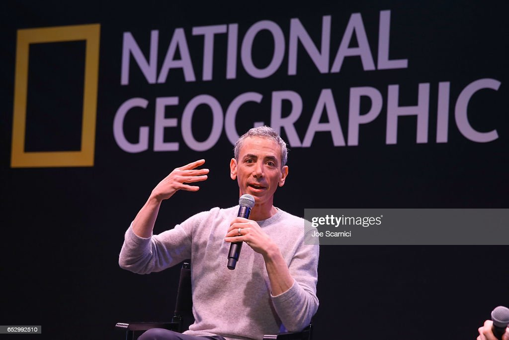 Steven Kotler speaks onstage during the 'Nat Geo Further Base Camp' At SXSW 2017 - Day 4 on March 13, 2017 in Austin, Texas.