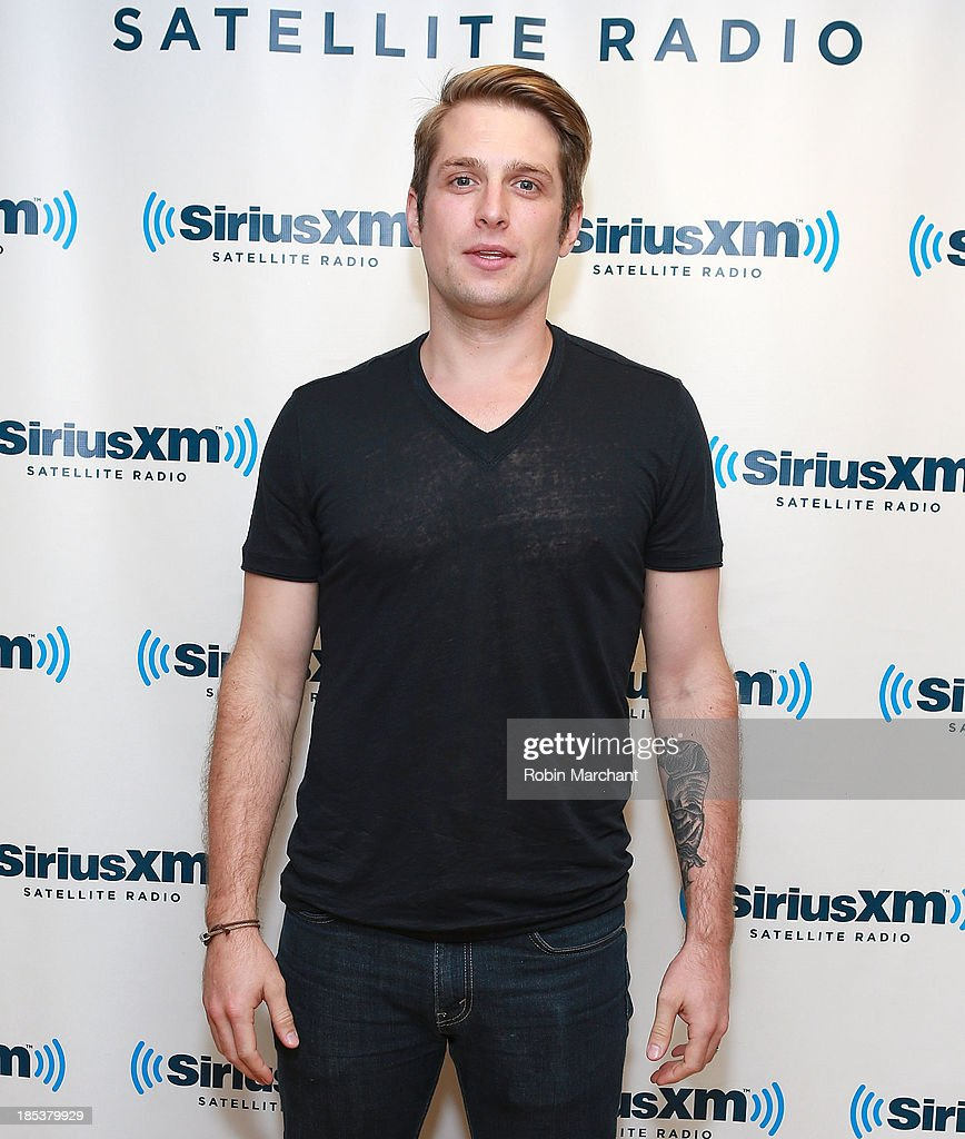 Steven McMorran of Satellite at SiriusXM Studios on October 16, 2013 in New York City.