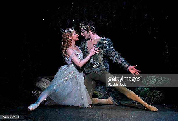 Steven McRae as Oberon and Roberta Marquez as Titania in the Royal Ballet's production of Frederick Ashton's The Dream at the Royal Opera House...