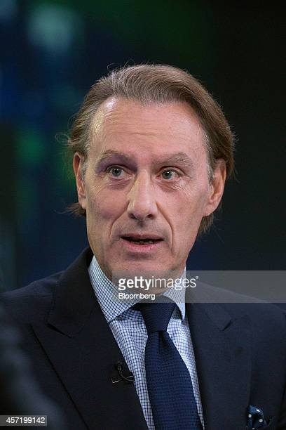 Steven Murphy chief executive officer of Christie's International speaks during a Bloomberg Television interview in London UK on Tuesday Oct 14 2014...