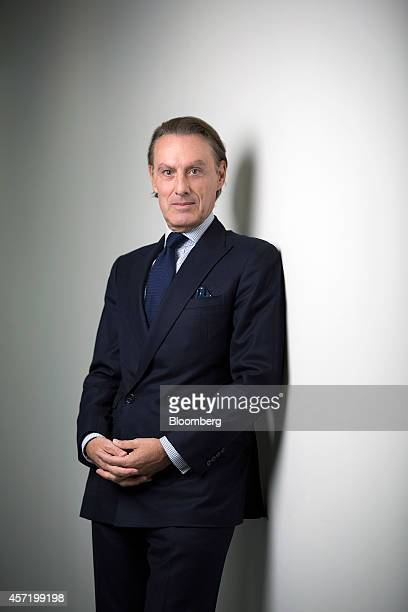 Steven Murphy chief executive officer of Christie's International poses for a photograph following a Bloomberg Television interview in London UK on...