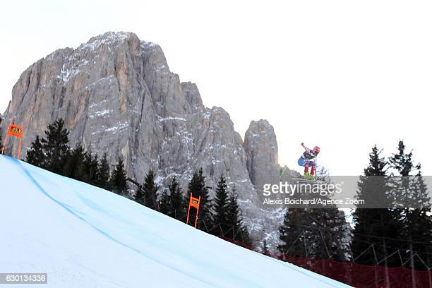 Steven Nyman of USA competes during the Audi FIS Alpine Ski World Cup Men's Downhill on December 17 2016 in Val Gardena Italy