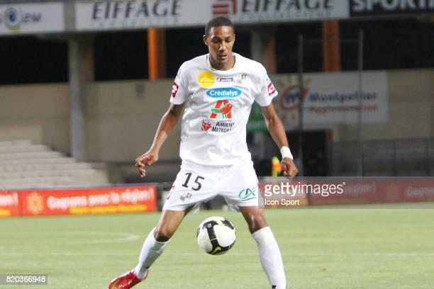 Steven NZONZI Montpellier / Amiens 2eme journee de Ligue 2