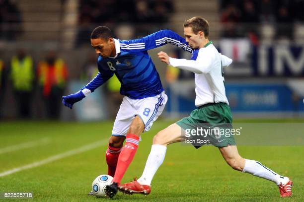 Steven NZONZI / Tim MATAVZ France / Slovenie Eliminatoires Euro Espoirs Stade Auguste Delaue Reims
