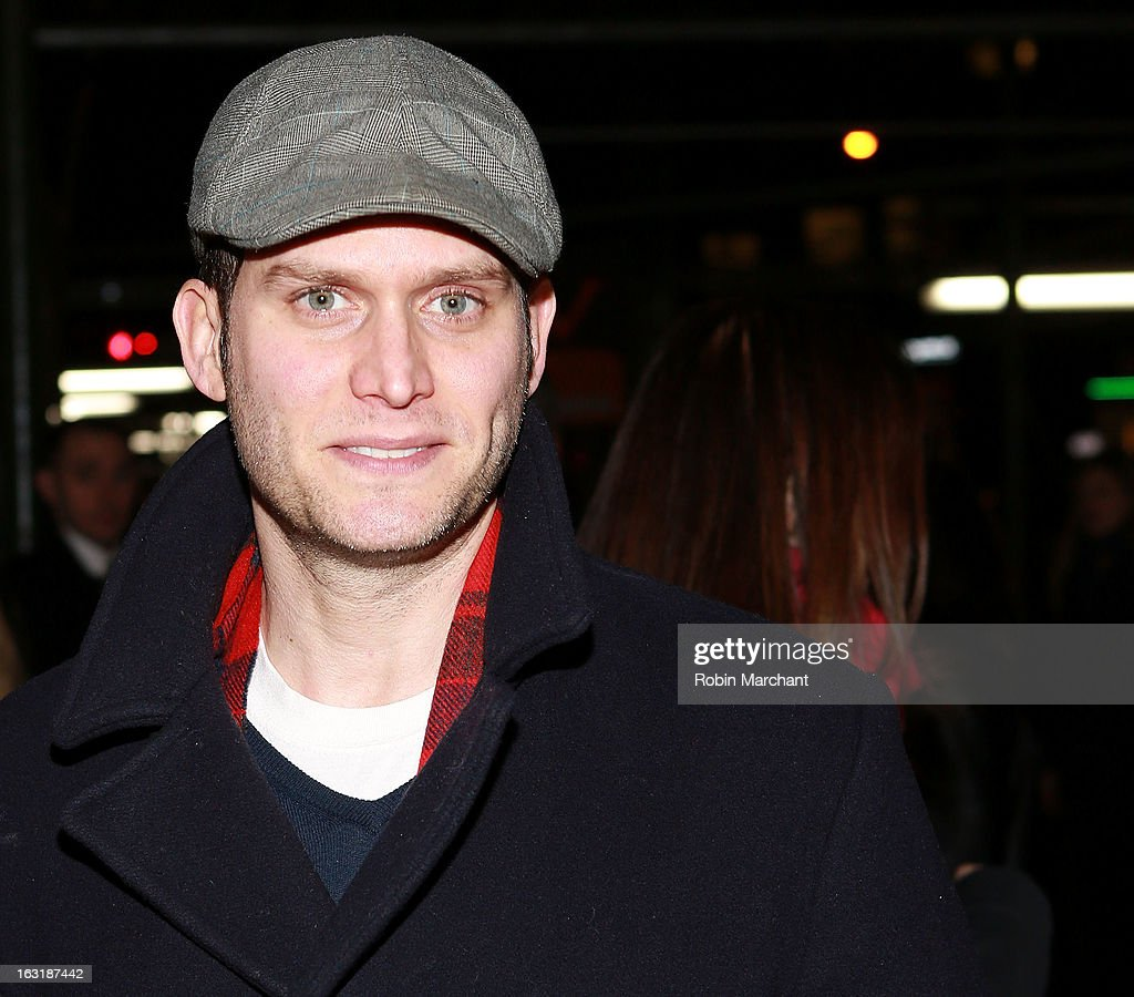 Steven Pasquale attends 'Talley's Folly' Opening Night at Laura Pels Theatre at the Harold & Miriam Steinberg Center for on March 5, 2013 in New York City.