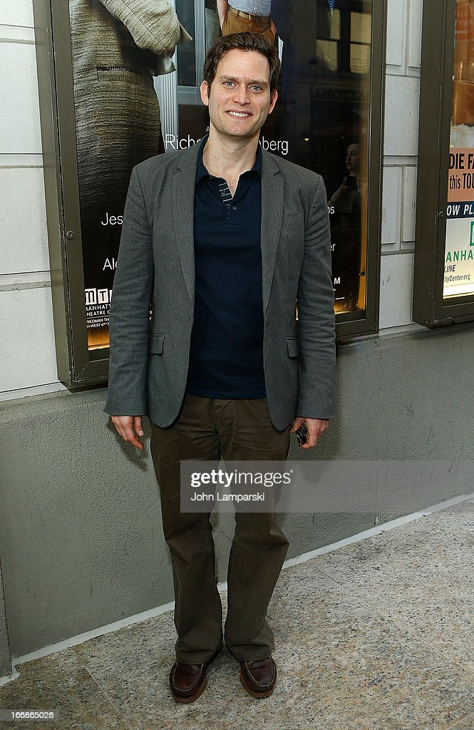 Steven Pasquale attends 'The Assembled Parties' Broadway Opening Night at the Samuel J. Friedman Theatre on April 17, 2013 in New York City.