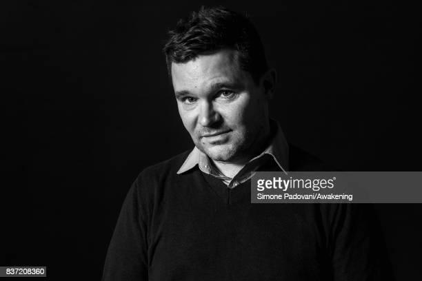 Steven Price attend a photocall during the Edinburgh International Book Festival on August 22 2017 in Edinburgh Scotland