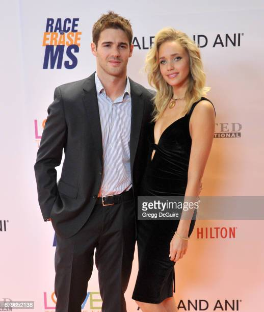 Steven R McQueen and Allie Silva arrive at the 24th Annual Race To Erase MS Gala at The Beverly Hilton Hotel on May 5 2017 in Beverly Hills California