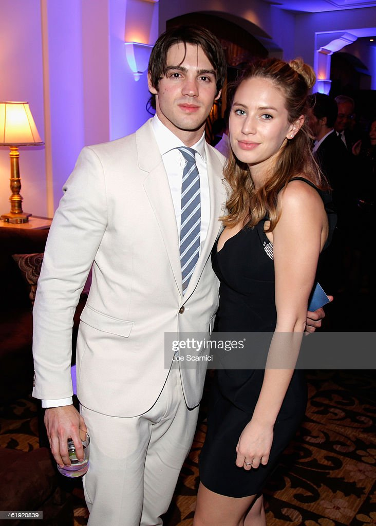 Steven R McQueen and Dylan Penn attend the 3rd annual Sean Penn Friends HELP HAITI HOME Gala benefiting J/P HRO presented by Giorgio Armani at...