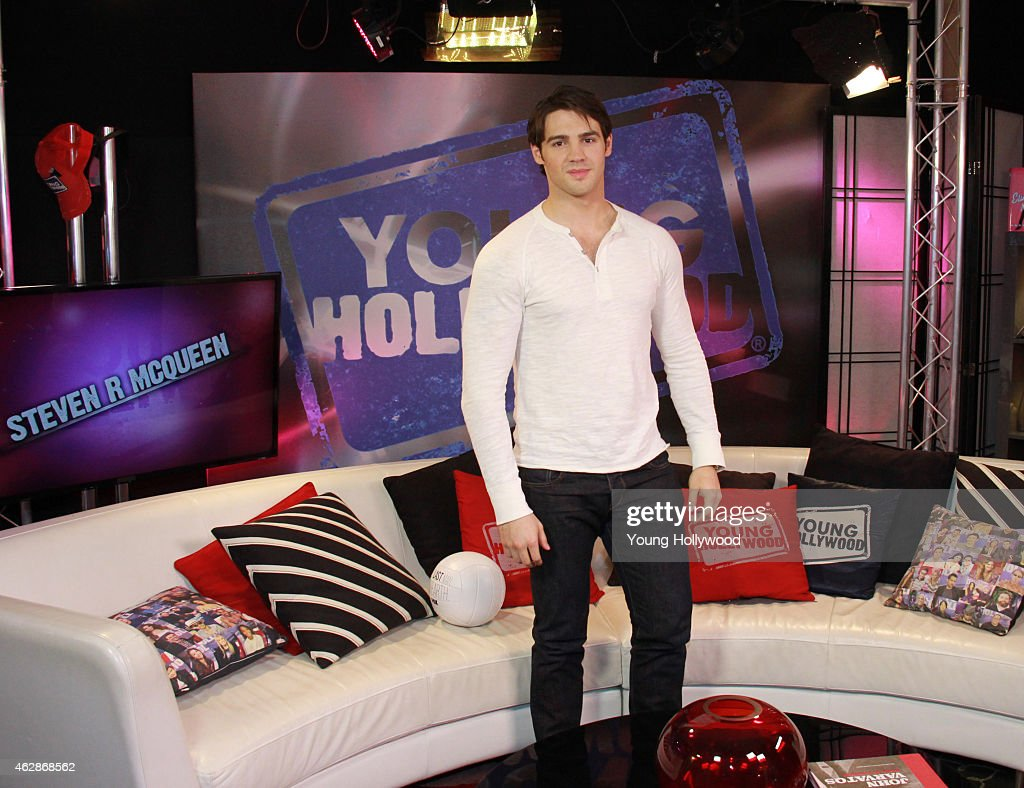 Steven R McQueen visits the Young Hollywood Studio on February 6 2015 in Los Angeles California