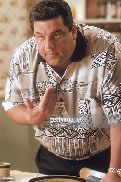 Steven R Schirripa as Bobby 'Bacala' Baccalieri acts in a scene in HBO's hit drama series 'The Sopranos'