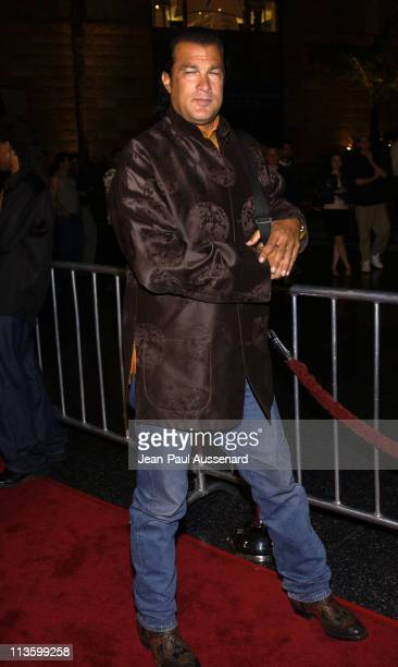 Steven Seagal during America Online Party Celebrates Launch of 2002 Celebrity 'You've Got Mail' Campaign at The Highlands in Hollywood California...