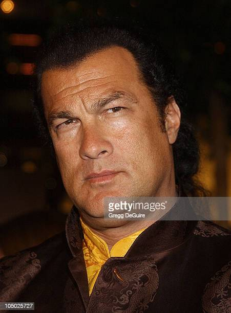 Steven Seagal during 'Half Past Dead' Premiere at Loews Century Plaza Cinema in Century City California United States