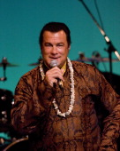 Steven Seagal in Benefit Concert for Global Nuclear Disarmament at Hibiya
