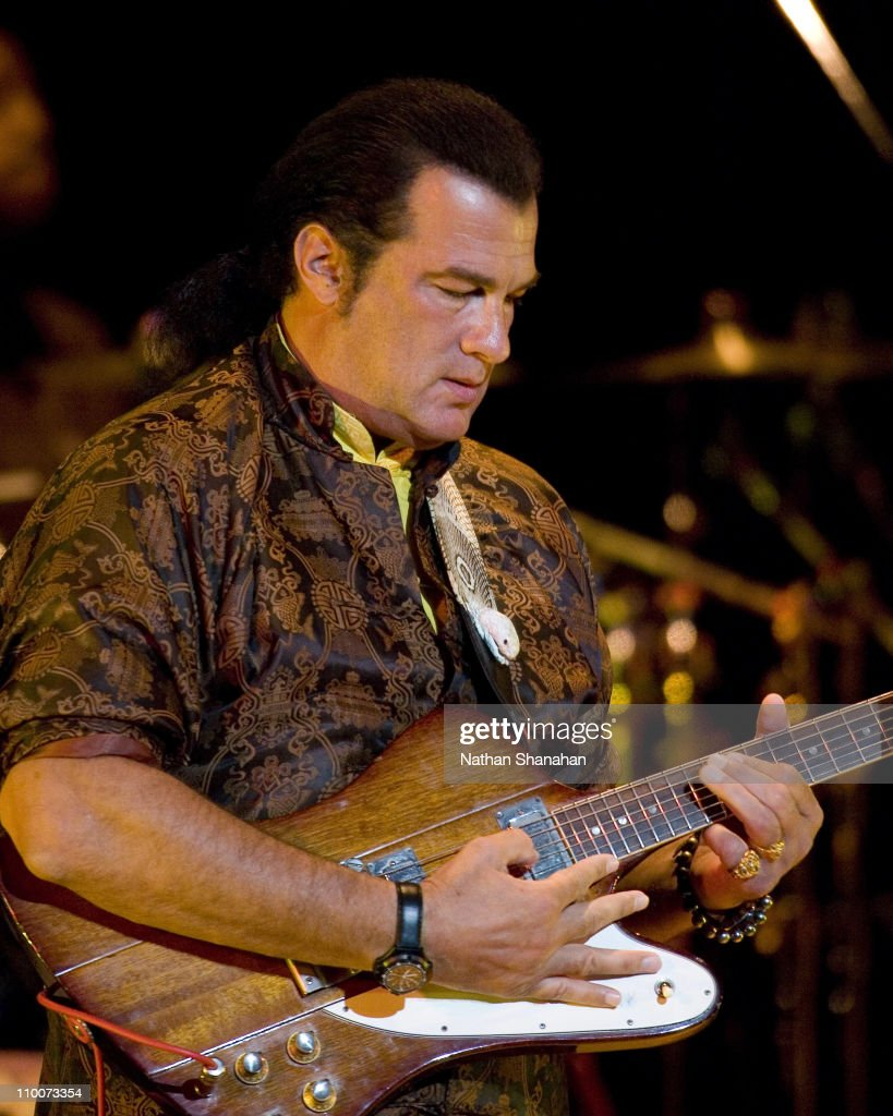 Steven Seagal during S...
