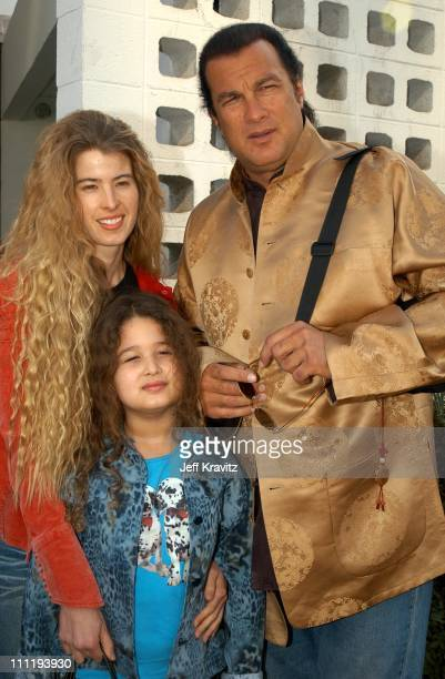 Steven Seagal during The Wild Thornberry's Movie at Cinerama Dome in Hollywood CA United States