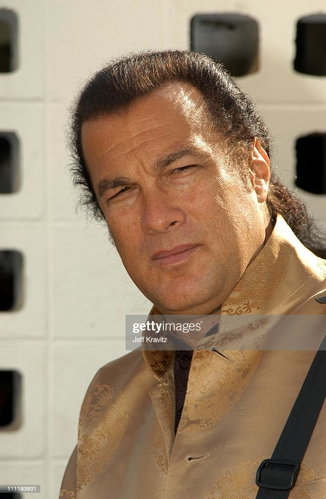 Steven Seagal during The Wild Thornberry's Movie at Cinerama Dome in ...