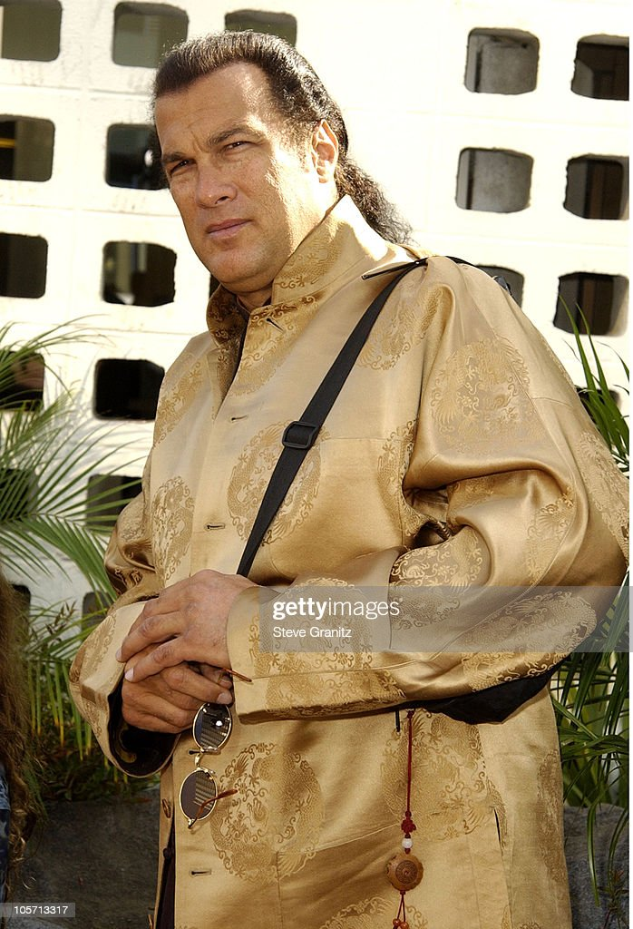 <a gi-track='captionPersonalityLinkClicked' href=/galleries/search?phrase=Steven+Seagal&family=editorial&specificpeople=220891 ng-click='$event.stopPropagation()'>Steven Seagal</a> during 'The Wild Thornberrys Movie' Premiere at Cinerama Dome in Hollywood, California, United States.