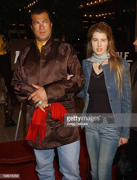 Steven Seagal guest during 'Half Past Dead' Premiere at Loews Century Plaza Cinema in Century City California United States