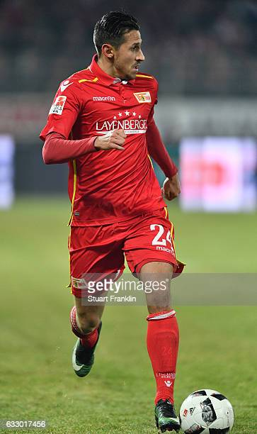 Steven Skrzybski of Berlin iin action during the Second Bundesliga match between 1 FC Union Berlin and VfL Bochum 1848 at Stadion An der Alten...
