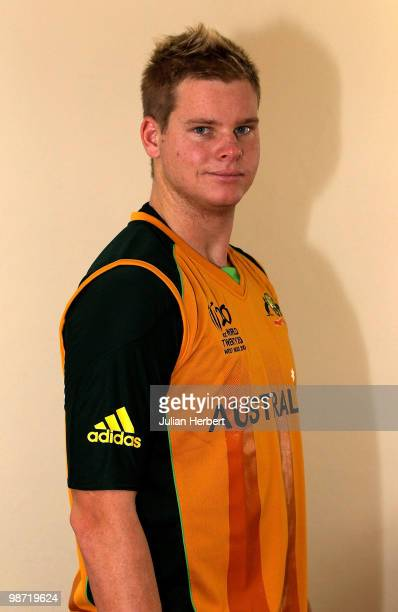 Steven Smith of the Australia Twenty20 Team poses for a portrait on April 25 2010 in Gros Islet Saint Lucia