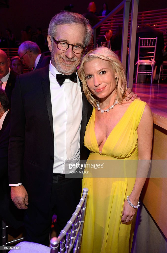 Steven Spielberg and Tracy Anderson attend TIME 100 Gala, TIME'S 100 Most Influential People In The World at Jazz at Lincoln Center on April 23, 2013 in New York City.