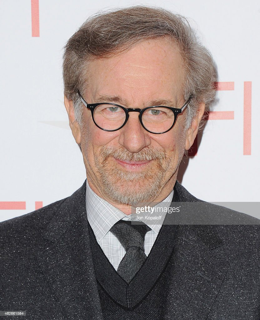 <a gi-track='captionPersonalityLinkClicked' href=/galleries/search?phrase=Steven+Spielberg&family=editorial&specificpeople=202022 ng-click='$event.stopPropagation()'>Steven Spielberg</a> arrives at the 15th Annual AFI Awards at Four Seasons Hotel Los Angeles at Beverly Hills on January 9, 2015 in Beverly Hills, California.