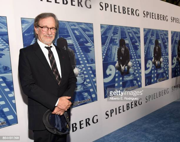 Steven Spielberg at the Premiere Of HBO's 'Spielberg' at Paramount Studios on September 26 2017 in Hollywood California