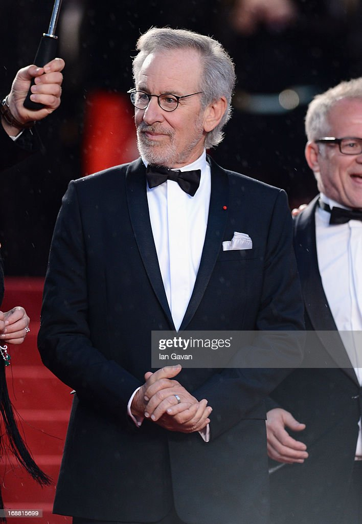 Steven Spielberg attends Electrolux at Opening Night of The 66th Annual Cannes Film Festival at the Theatre Lumiere on May 15, 2013 in Cannes, France.