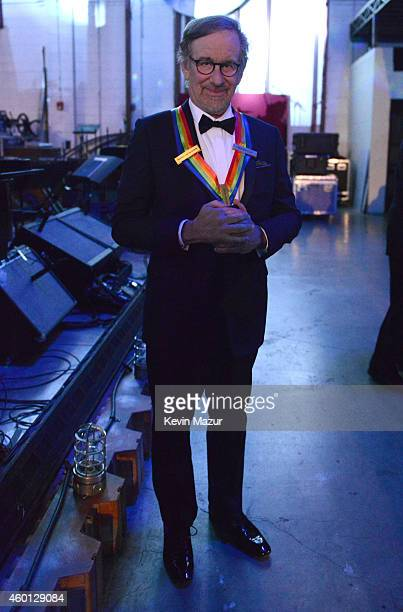 Steven Spielberg attends the 37th Annual Kennedy Center Honors at The John F Kennedy Center for Performing Arts on December 7 2014 in Washington DC