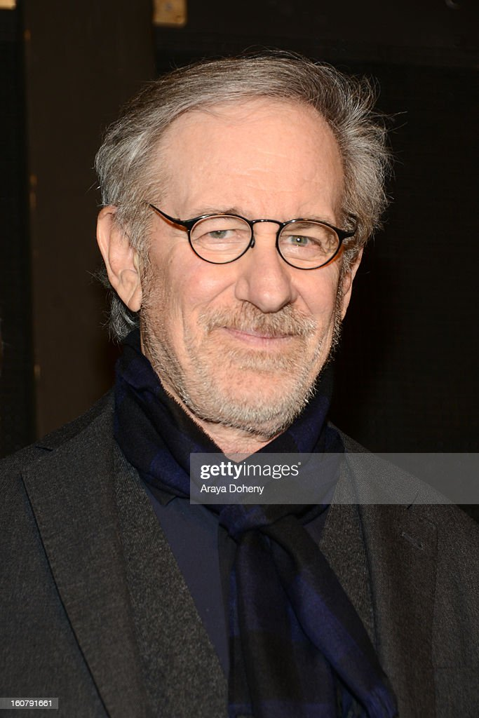Steven Spielberg attends the dedication of the Sumner M. Redstone Production Building at USC on February 5, 2013 in Los Angeles, California.