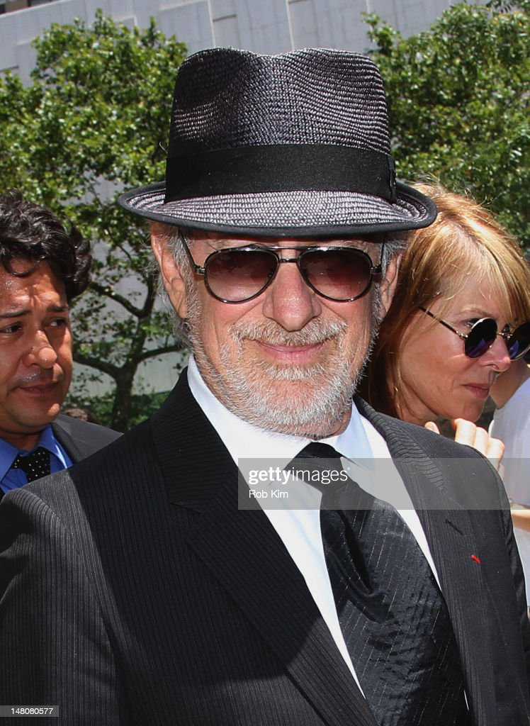 <a gi-track='captionPersonalityLinkClicked' href=/galleries/search?phrase=Steven+Spielberg&family=editorial&specificpeople=202022 ng-click='$event.stopPropagation()'>Steven Spielberg</a> attends the Nora Ephron Memorial Service on July 9, 2012 in New York City.