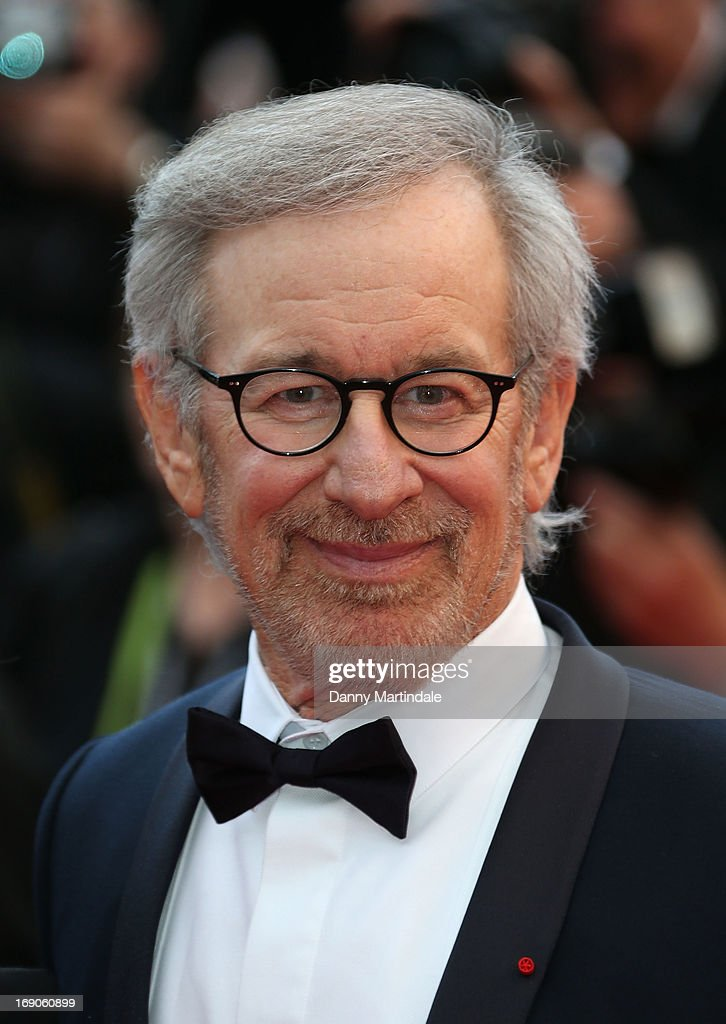 Steven Spielberg attends the Premiere of 'Inside Llewyn Davis' at The 66th Annual Cannes Film Festival on May 19, 2013 in Cannes, France.