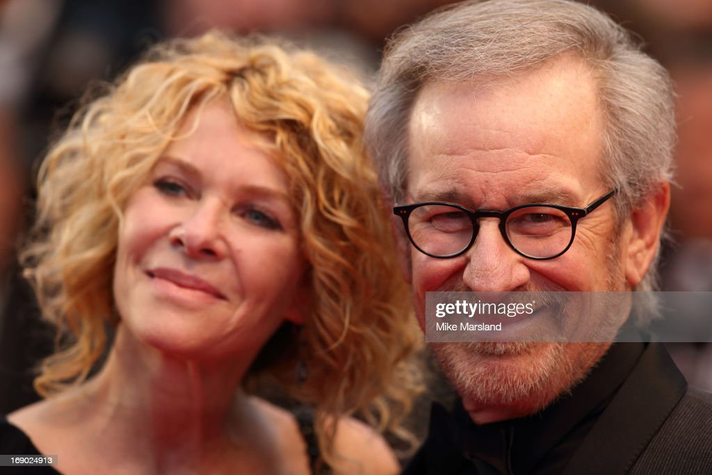 Steven Spielberg attends the Premiere of 'Jimmy P. (Psychotherapy Of A Plains Indian)' at The 66th Annual Cannes Film Festival on May 18, 2013 in Cannes, France.
