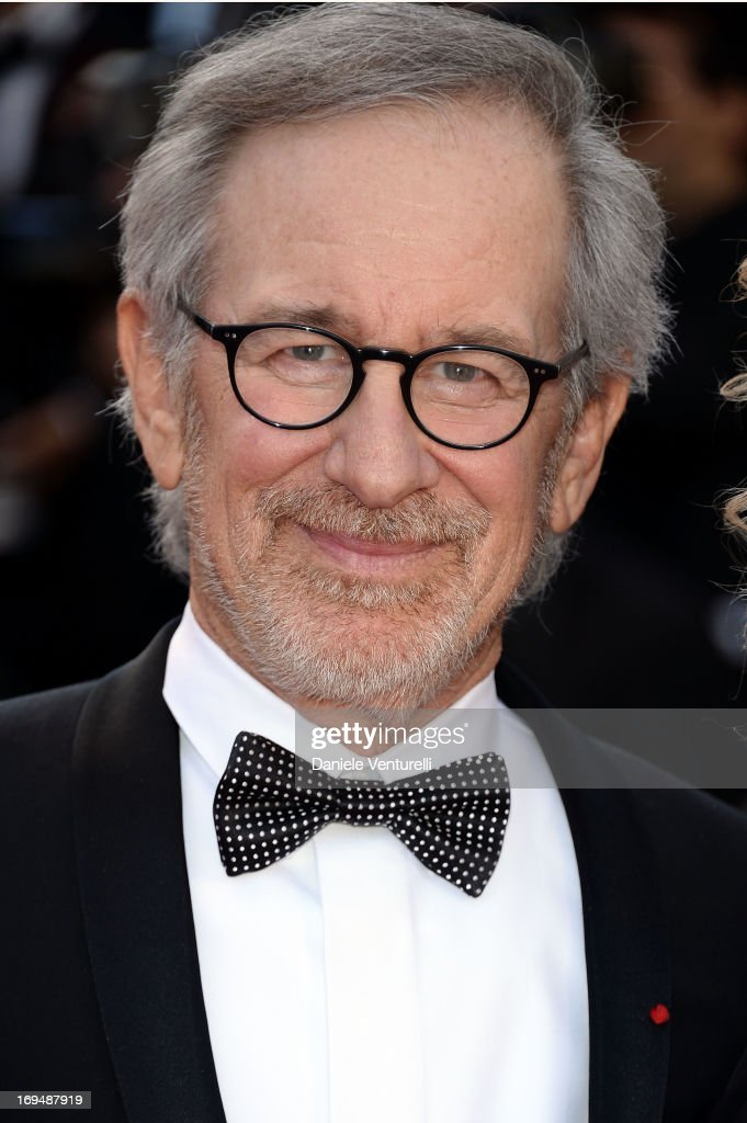 Steven Spielberg attends the Premiere of 'La Venus A La Fourrure' at The 66th Annual Cannes Film Festival on May 25, 2013 in Cannes, France.