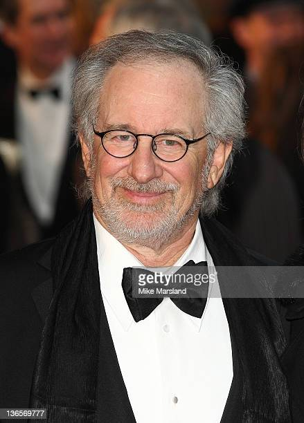 Steven Spielberg attends the UK premiere of War Horse at Odeon Leicester Square on January 8 2012 in London England