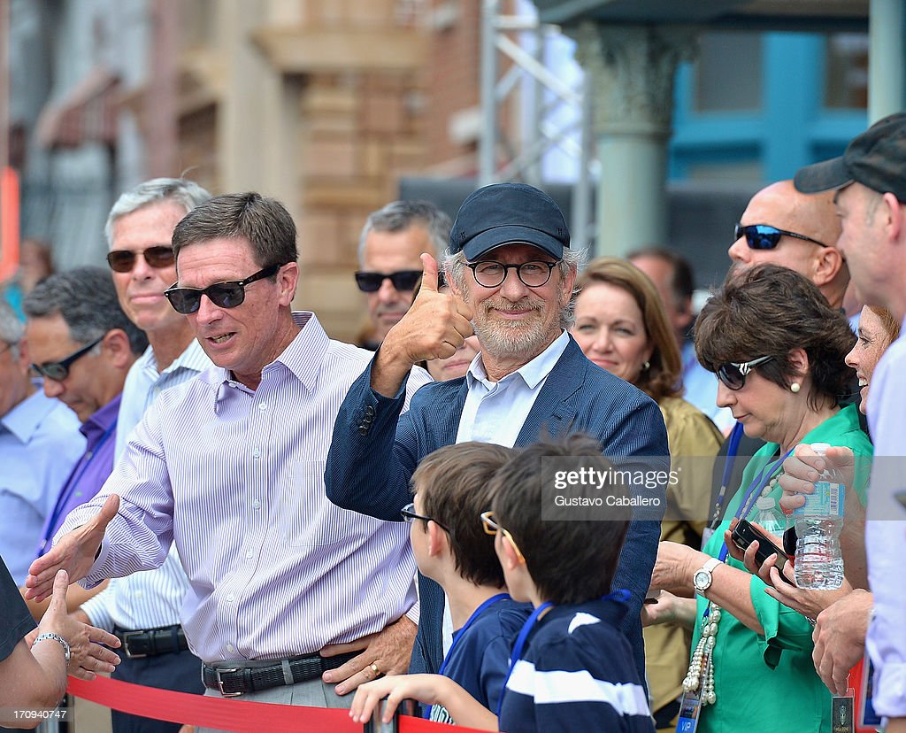 <a gi-track='captionPersonalityLinkClicked' href=/galleries/search?phrase=Steven+Spielberg&family=editorial&specificpeople=202022 ng-click='$event.stopPropagation()'>Steven Spielberg</a> attends Transformers The Ride - 3D Grand Opening Celebration at Universal Orlando on June 20, 2013 in Orlando, Florida.