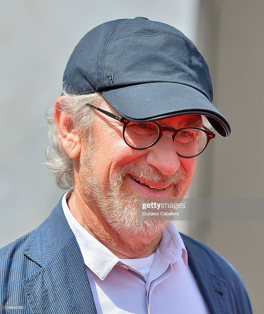 Steven Spielberg attends Transformers The Ride - 3D Grand Opening Celebration at Universal Orlando on June 20, 2013 in Orlando, Florida.