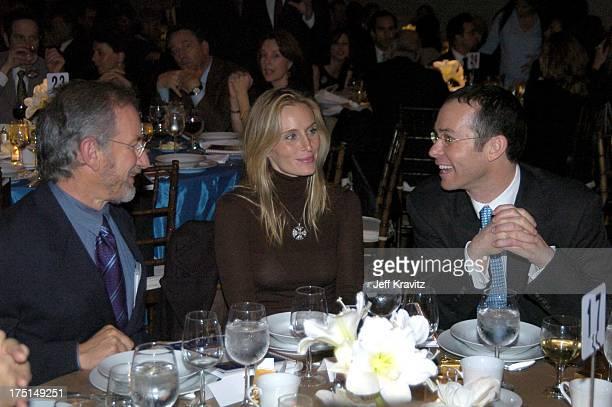 Steven Spielberg Brittany Lovett and Richard Lovett *Exclusive*