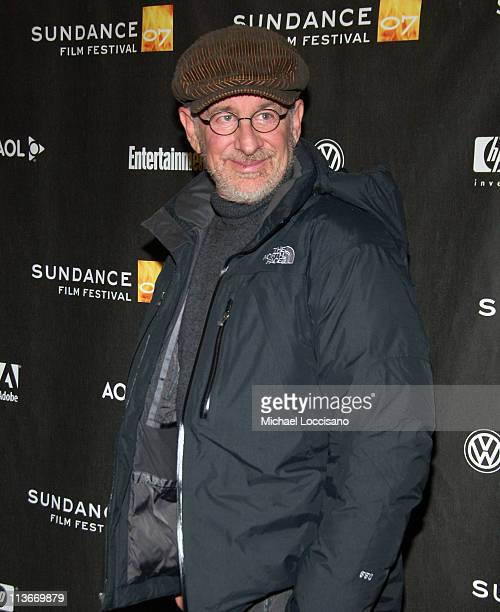 Steven Spielberg during 2007 Sundance Film Festival 'The Good Night' Premiere at Eccles in Park City Utah United States