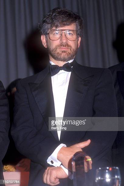 Steven Spielberg during American Jewish Committee Awards Ronald Reagan at Beverly Hilton Hotel in Beverly Hills CA United States